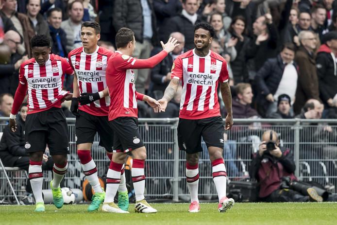Jürgen Locadia blijft in ieder geval bij PSV.