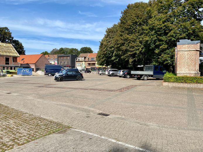 De parking van het Lodewijk De Vochtplein