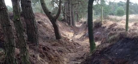 Aanleg ATB-parcours in Tilburg trekt diepe sporen: 'een aanslag op de natuur'