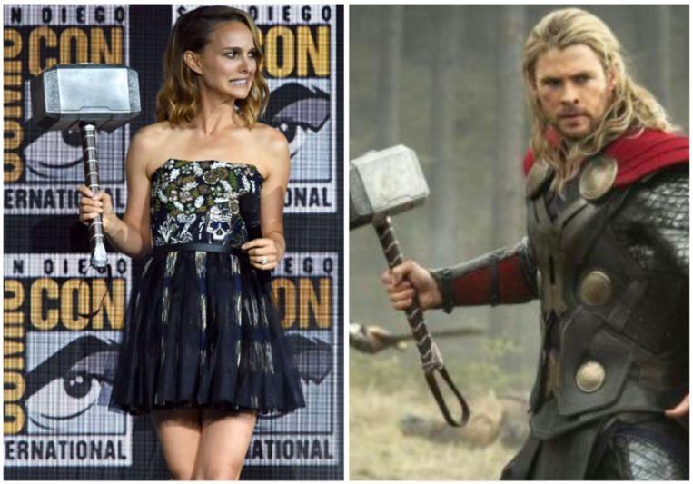 Natalie Portman wordt vrouwelijke Thor.