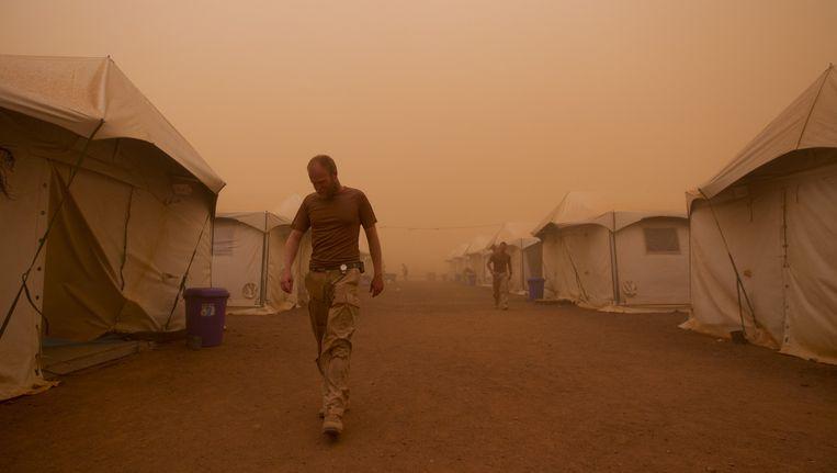 Archieffoto: Nederlands legerkamp in Mali Beeld anp