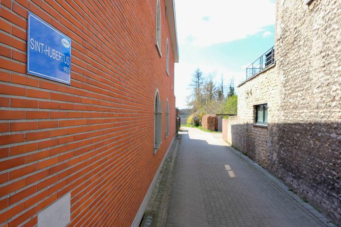 De Sint-Hubertusweg in Elewijt.