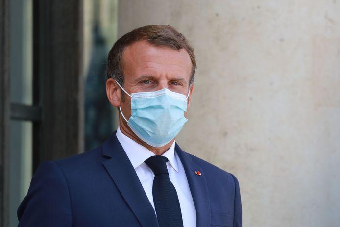 Emmanuel Macron en août dernier.