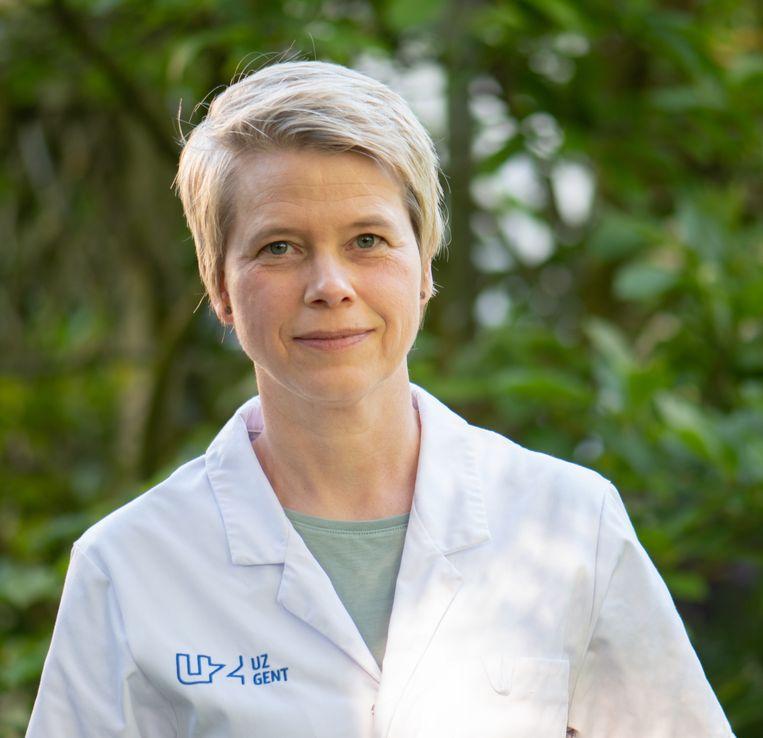 Dermatologe Lieve Brochez (UZ Gent) Beeld UZ Gent