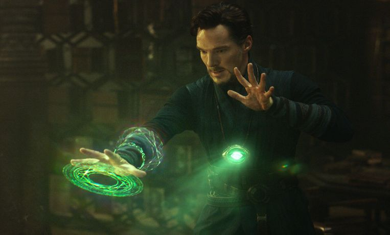Benedict Cumberbatch als Doctor Strange. Beeld AP