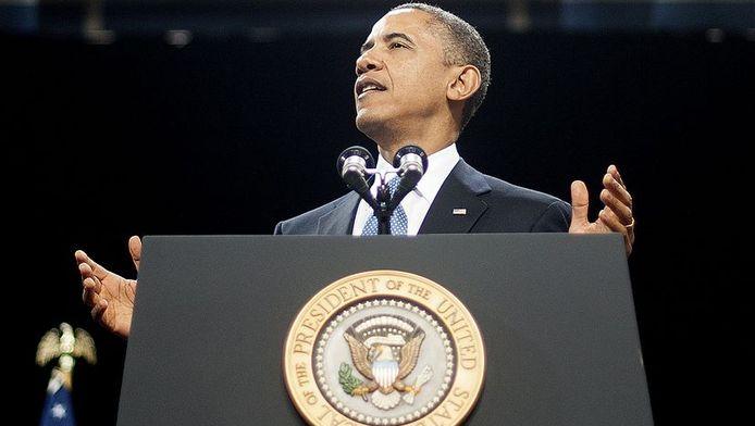 Obama hoopt dat de Russische president Vladimir Poetin bereid is hetzelfde te doen.