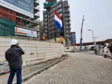 De vlag kan uit bij Belvédère II: hoogste punt is bereikt