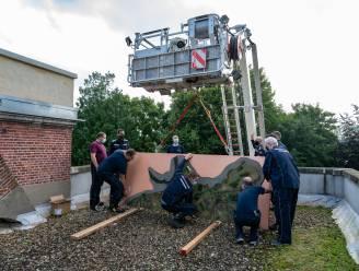 IN BEELD. Heemkring Ter Palen verhuist maquettes met hulp van brandweer en technische dienst