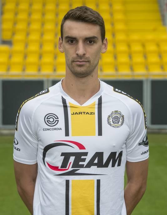 Gregory Mertens speelt sinds dit seizoen bij Lokeren.