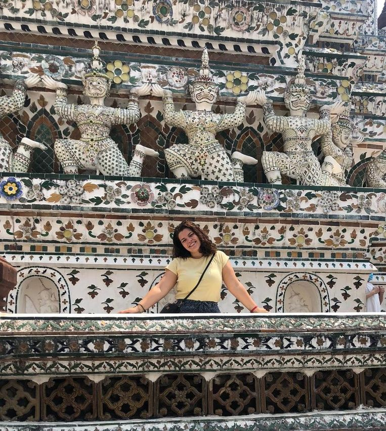 Isa Pardo in Thailand. Beeld Isa Pardo