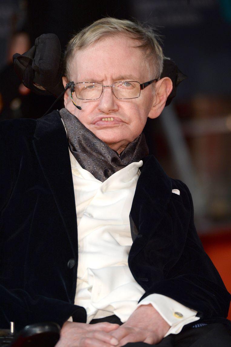 De bekende Britse natuurkundige, kosmoloog en wiskundige Stephen Hawking is overleden. Beeld Photo News