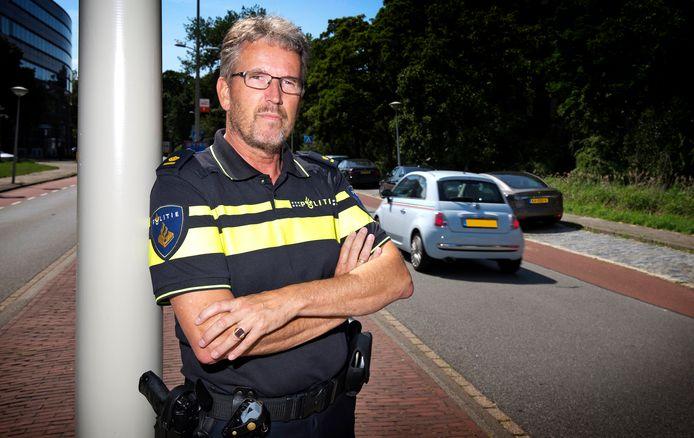 Paul Broer, plaatsvervangend portefeuillehouder verkeer bij de nationale politie en hoofd infra bij de politie Den Haag