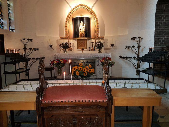 In de Mariakerk in Renkum.