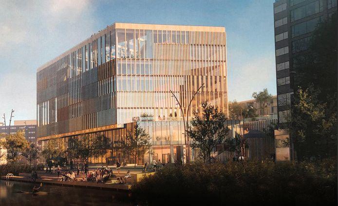 Het winnende ontwerp van het Huis van Stad en Regio, het nieuwe stadskantoor van Dordrecht, is gemaakt door Schmidt/Hammer/Lassen Architects.