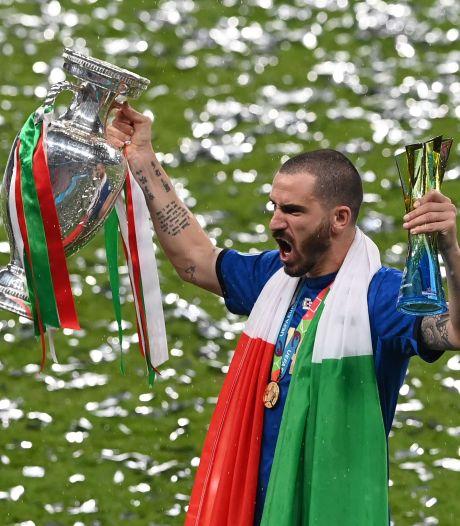 """""""It's coming to Rome"""": Bonucci chambre les Anglais lors du sacre des Azzurri à Wembley"""