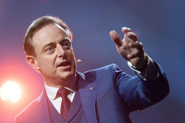 Antwerps burgemeester Bart De Wever. Beeld Photo News