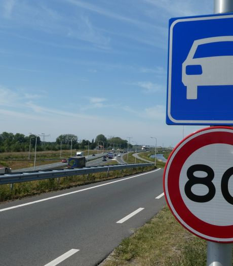 Provincie ziet niets in snelheidsverhoging op N279: 80 blijft 80