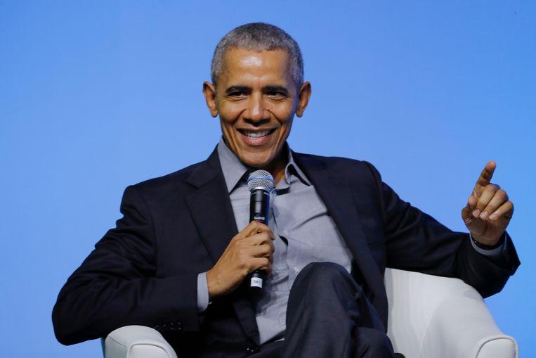 Oud-president Barack Obama.  Beeld AP