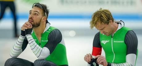 Nuis gediskwalificeerd en in tranen na 'pijnlijke' fout, N'tab wint eerste 500 meter
