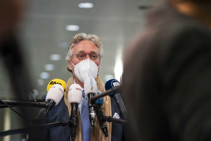 Burgemeester John Jorritsma van Eindhoven.