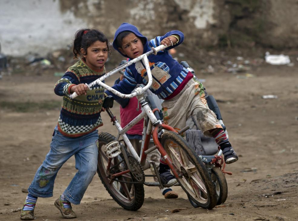 Foto van In dit Roma-dorp zou 'Maria' eigenlijk opgroeien