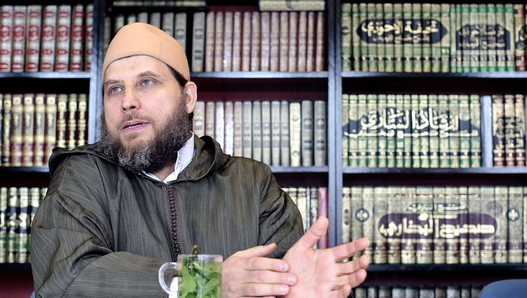 Imam Sjeik Fawaz Jneid, in 2008. Beeld ANP