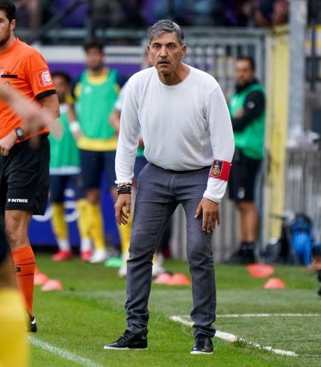 """Felice Mazzu avant la venue du Club Bruges: """"J'aime bien l'expression l'Union est un loup déguisé en mouton"""""""