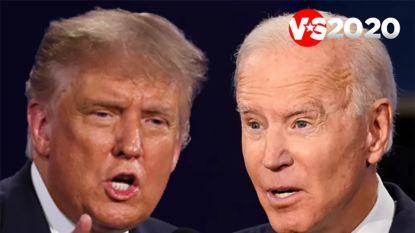 LIVE. Eerste polls wijzen Biden aan als winnaar (maar dat wil niet veel zeggen)