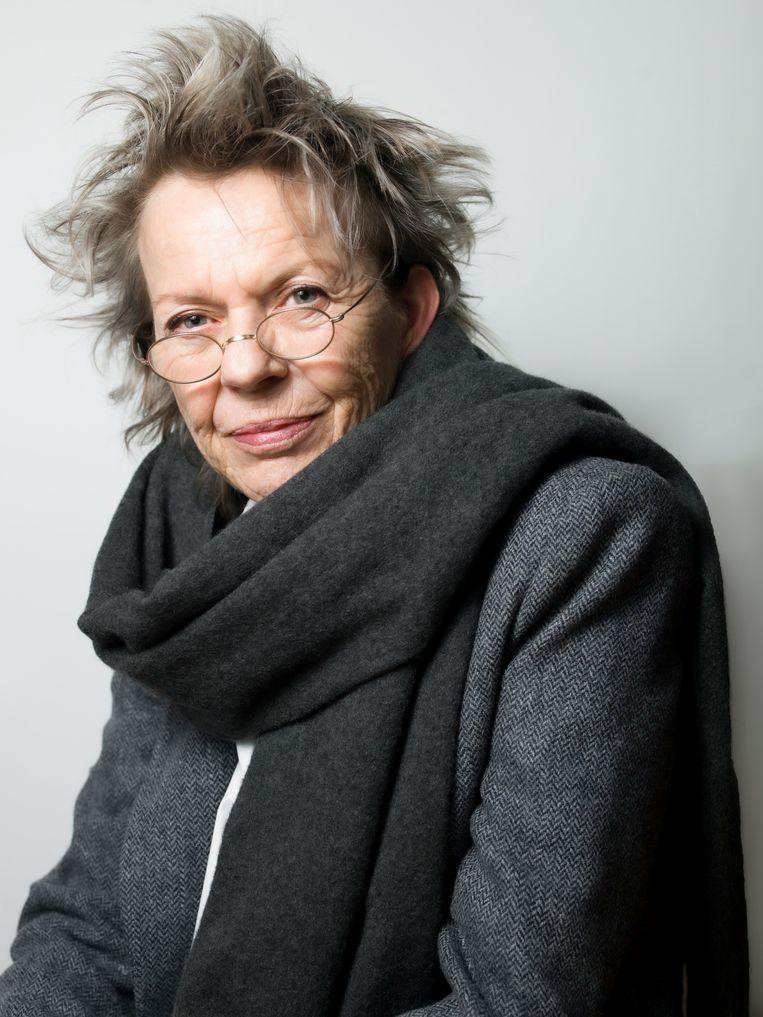 Connie Palmen: 'Je kunt niet tot drieuur een goede moeder zijn, tot achtuur een goede schrijver en na achten een goede minnares.'  Beeld Eva Roefs