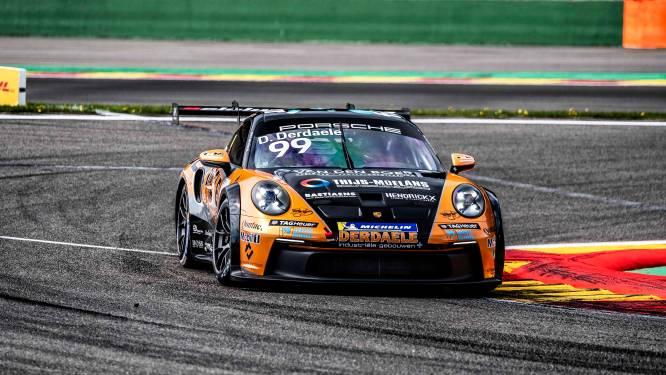 Dylan Derdaele start schitterend in de Porsche Carrera Cup Benelux met een dubbele zege op Francorchamps