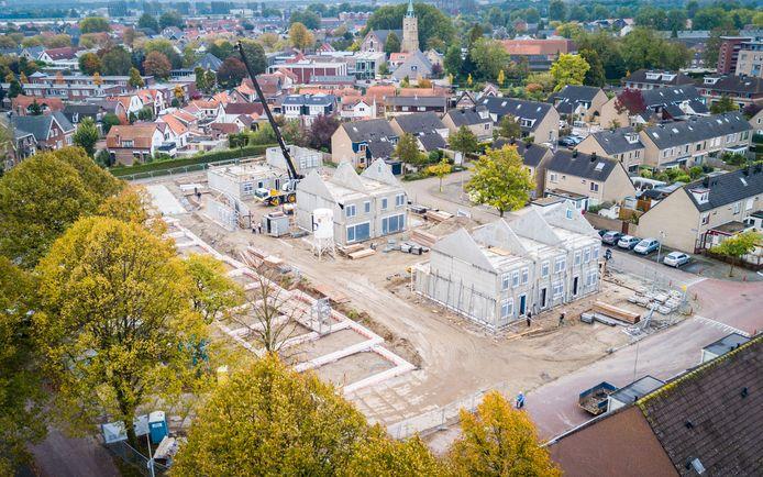 Nieuwbouw 's-Gravendeel. Foto ter illustratie.
