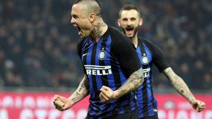 Nainggolan helemaal terug: matchwinnaar bij Inter