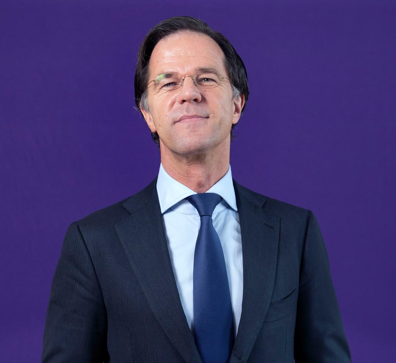 Premier en VVD-lijsttrekker Mark Rutte.