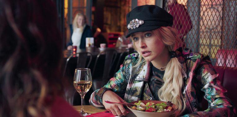 Ella-June Henrard in 'Mijn Slechtste Beste Vriendin' Beeld VIER