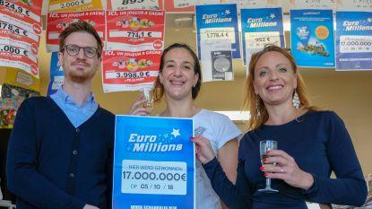 Brusselse 17 miljoen euro rijker dankzij EuroMillions