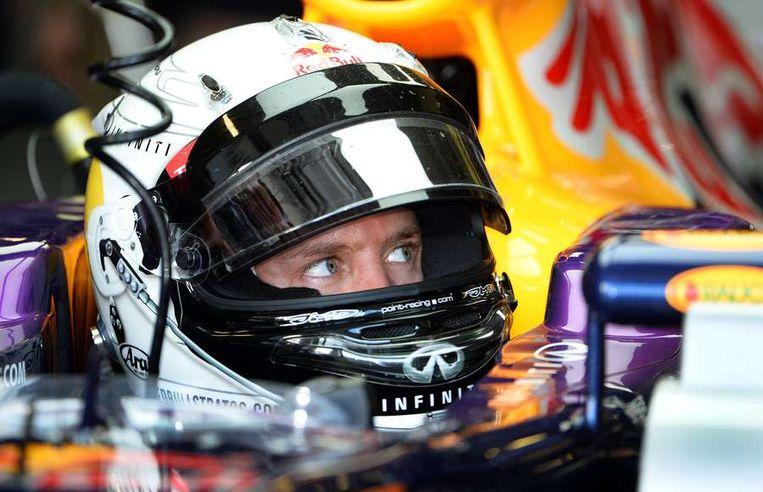 Sebastian Vettel. Beeld afp