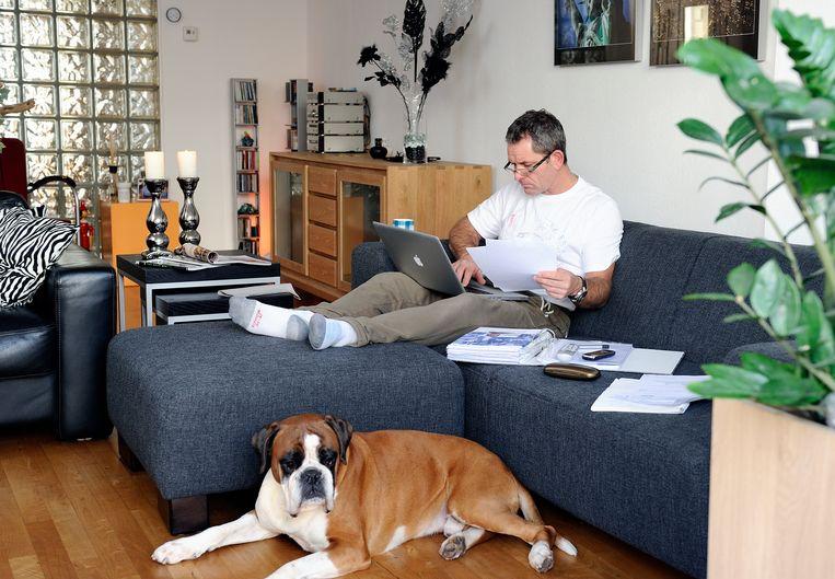 Thuiswerken gaat de meeste bedrijven goed af, maar het behouden van de bedrijfscultuur en het teamgevoel zijn aandachtspunten. Beeld Hollandse Hoogte
