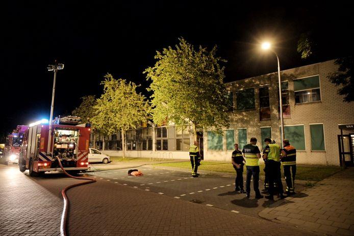 Brand uitgebroken bij Vereniging Welzijn West in Tilburg.