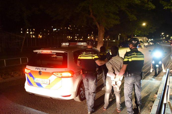 Tijdens en na de rellen werden 71 relschoppers opgepakt.