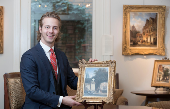 Kas Buunk met zijn Cornelis Springer.