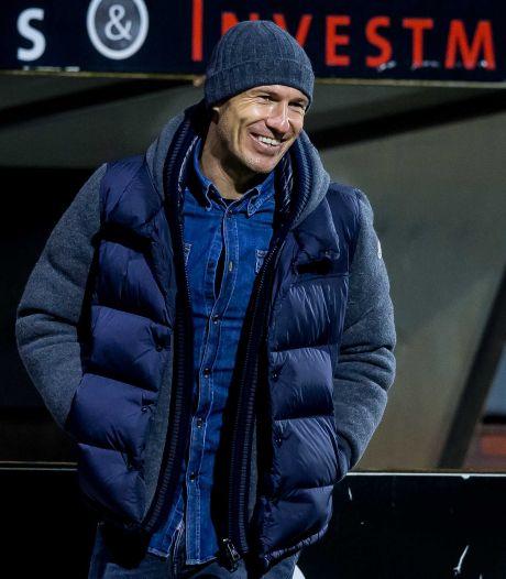 Buijs: 'Als ik zie hoe Robben bezig is, heeft hij de moed nog niet opgegeven'