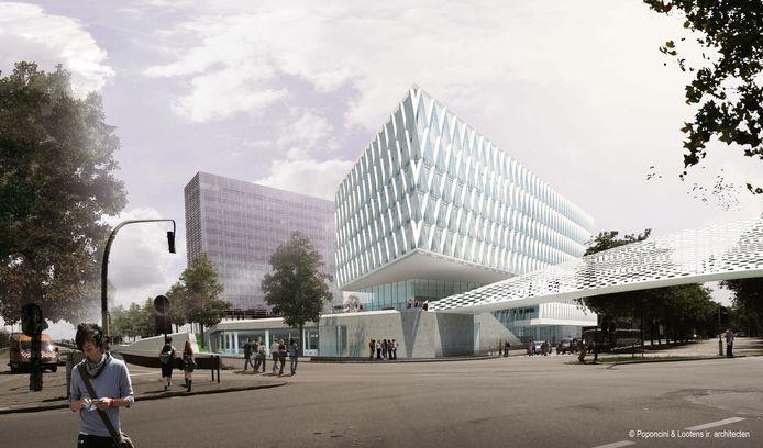 De campus Artesis in Antwerpen, een referentie van The Pearl.