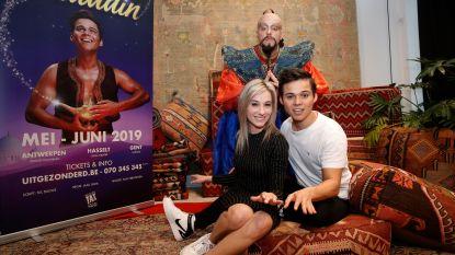 De Leest verwelkomt avant-première musical Aladdin