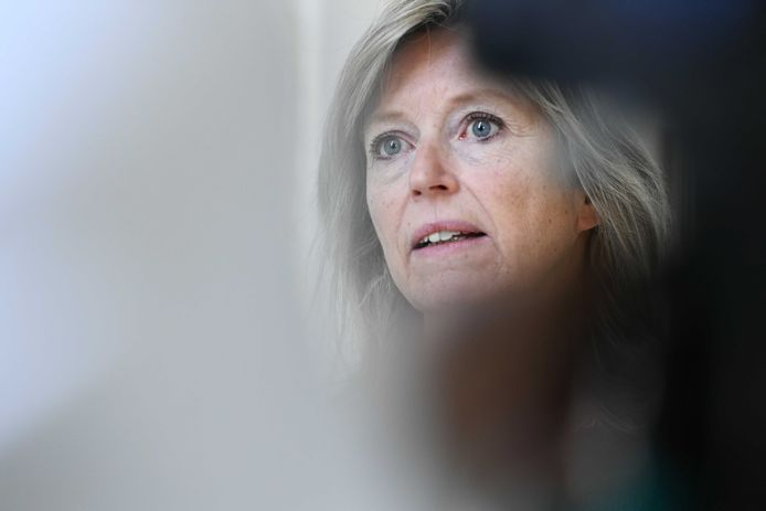 Demissionair minister van Binnenlandse Zaken Kajsa Ollongren (D66).