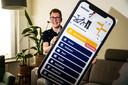 Bas Rodijk uit Zwolle bedacht de Kwikstart-app.