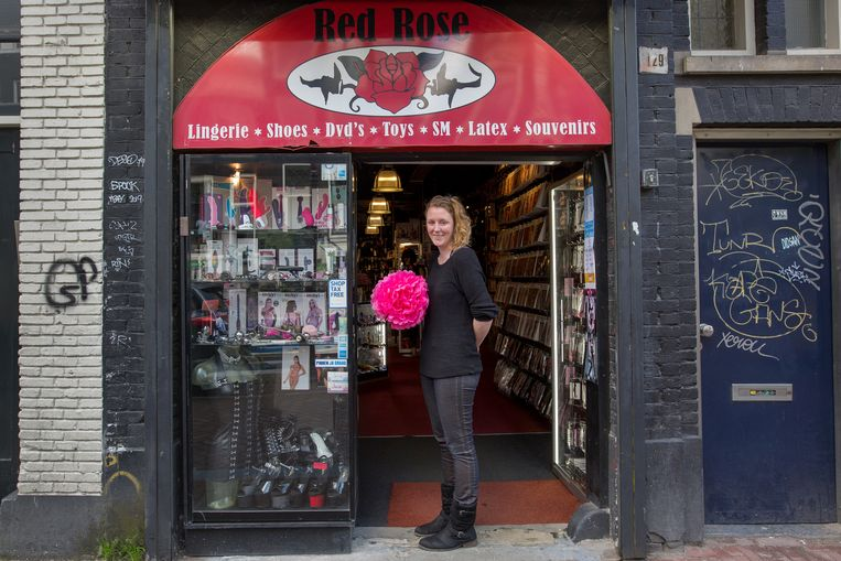 Erotische winkel Red Rose is ook blij met de heropening van de sekswerkbranche.