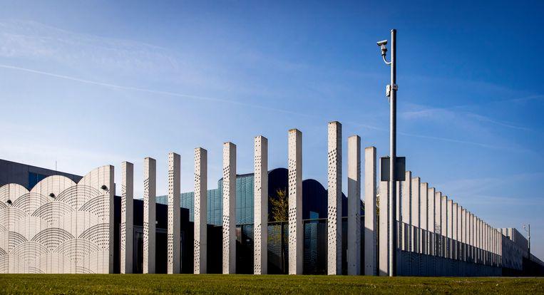 Het Justitieel Complex Schiphol in Badhoevedorp. Beeld Hollandse Hoogte /  ANP
