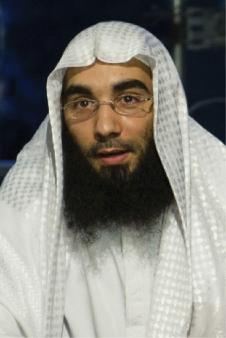 Fouad Belkacem, het kopstuk van Sharia4Belgium. Beeld Photonews