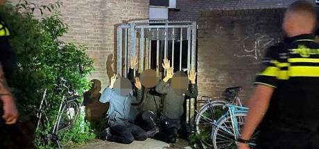 Politiehond speurt inbrekers op in Utrecht, drie mannen op heterdaad betrapt