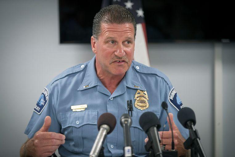 Archieffoto uit 2018 van Bob Kroll van de Minneapolis Politiebond. Beeld AP